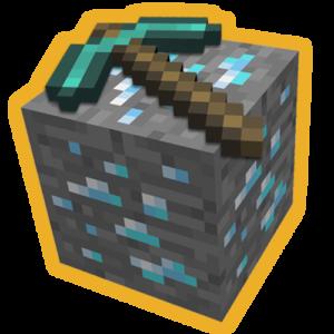 Minecraft kilof złoty